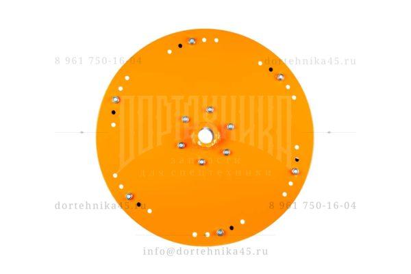 Купить - Диск разбрасывателя ⌀ внутр. 40 мм, ⌀ внеш. 500 мм. - запчасти на КДМ, Автогудронатор и другую спецтехнику по низкой цене в ООО «Дортехника»
