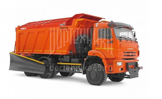 Купить Комбинированная дорожная машина КО-829С1-03 и другую дорожную спецтехнику в ООО «Дортехника».