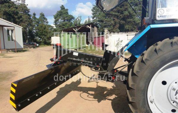 Купить Грейдерная планировочная отвальная лопата ОП-2500 и другое навесное оборудование для спецтехники в ООО «Дортехника».
