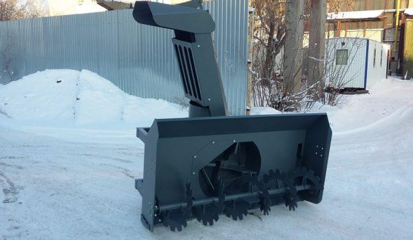 Купить Снегоочиститель шнеко(фрезерно)-роторный СШР-2.0П и другое навесное оборудование для спецтехники в ООО «Дортехника».