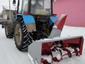 Купить Снегоочиститель шнекороторный СШР-2,0П и другое навесное оборудование для спецтехники в ООО «Дортехника».