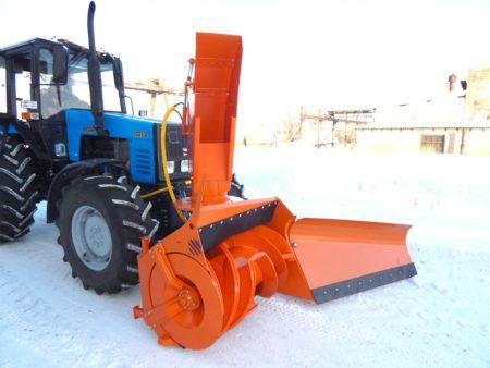 Купить Быстросъемный снегоочиститель Су 2.5 ОМ и другое навесное оборудование для спецтехники в ООО «Дортехника».