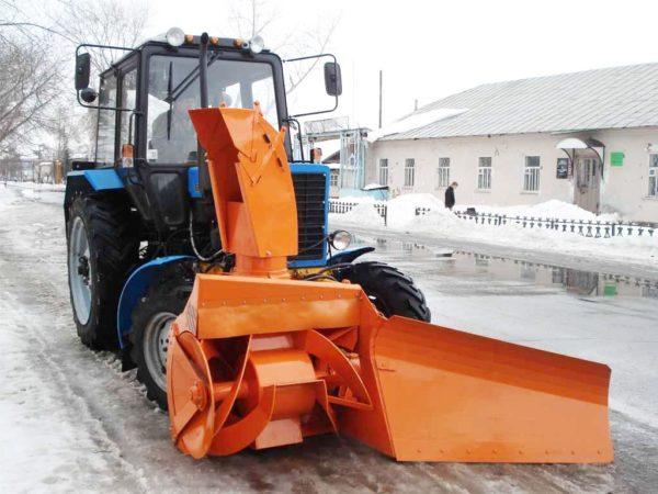 Купить Навесная фрезерно-роторная снегоочистительная машина СУ 2.1 и другое навесное оборудование для спецтехники в ООО «Дортехника».
