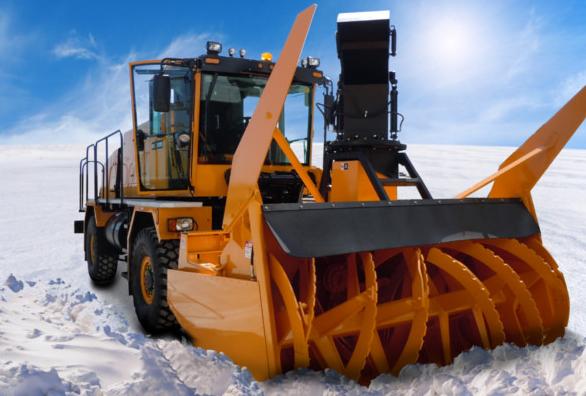 Купить Фрезерный снегоочиститель ФРС - 2,6 и другое навесное оборудование для спецтехники в ООО «Дортехника».