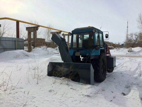 Купить Снегоочиститель шнеко(фрезерно) – роторный С1-200Г и другое навесное оборудование для спецтехники в ООО «Дортехника».