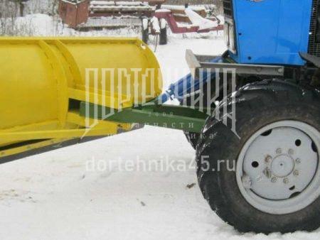 Купить Отвал ОС-1 снежный и другое навесное оборудование для спецтехники в ООО «Дортехника».