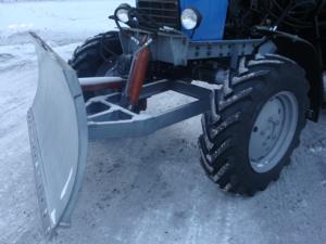 Купить Отвал ОБН-1П бульдозерный и другое навесное оборудование для спецтехники в ООО «Дортехника».