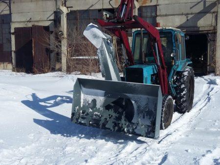 Купить Снегоочиститель шнеко(фрезерно) – роторный С1-200ПГ и другое навесное оборудование для спецтехники в ООО «Дортехника».