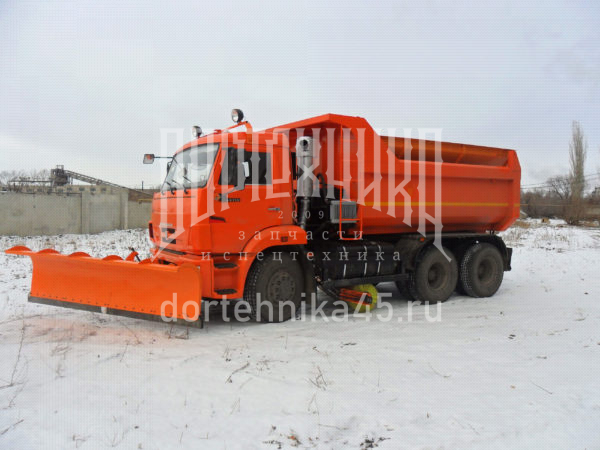 Купить Поворотный отвал ДМ-46 и другое навесное оборудование для спецтехники в ООО «Дортехника».