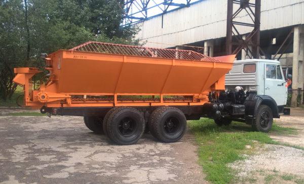 Купить Пескоразбрасыватель ДМ-59-10 и другое навесное оборудование для спецтехники в ООО «Дортехника».