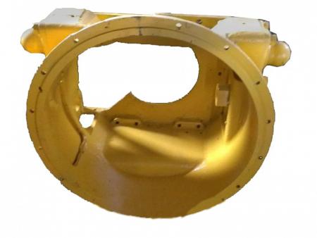 Купить Картер муфты сцепления Д395В.10.02.001 и другие запчасти для спецтехники в ООО «Дортехника».