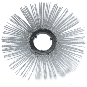 Купить Диск щеточный беспроставочный 120х550мм с армированным полипропиленовым ворсом (износостойкий) и другое навесное оборудование для спецтехники в ООО «Дортехника».