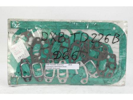 Купить Комплект прокладок двигателя большой Deutz TD226B LONGGONG и другие запчасти для спецтехники в ООО «Дортехника».