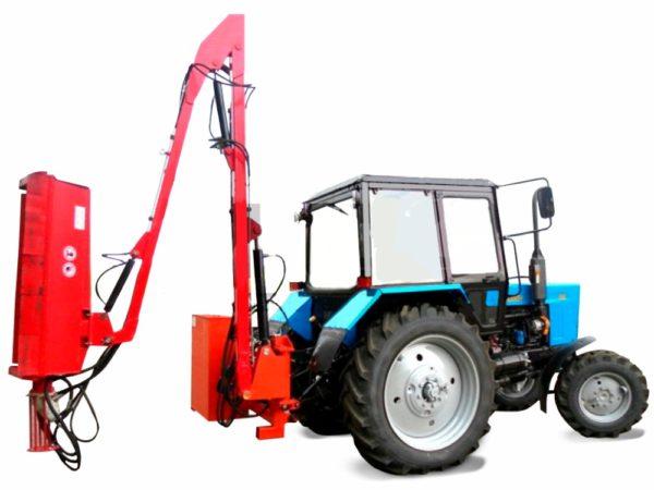 Купить Косилка ЕМ-1.3 и другое навесное оборудование для спецтехники в ООО «Дортехника».