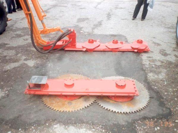 Купить Кусторез К-78М и другое навесное оборудование для спецтехники в ООО «Дортехника».
