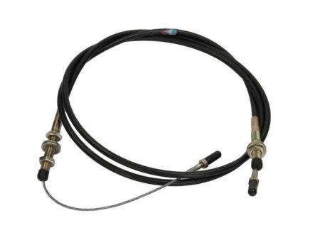 Купить Трос управления подачей топлива SHANTUI SL50 и другие запчасти для спецтехники в ООО «Дортехника».