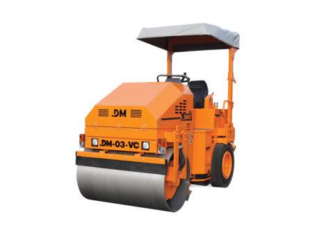 Купить Каток тротуарный DM-03-VC и другую дорожную технику по низкой цене в ООО «Дортехника».