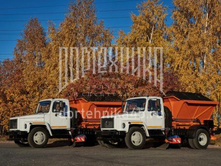 Купить Комбинированная дорожная машина ГАЗ 3309 и другую дорожную технику по низкой цене в ООО «Дортехника».