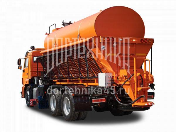 Купить Комбинированная дорожная машина КамАЗ 65115 и другую дорожную технику по низкой цене в ООО «Дортехника».