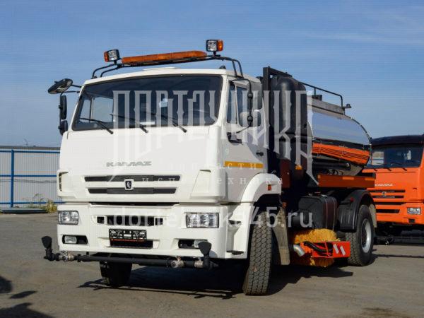 Купить Автогудронатор КамАЗ 53605 + ПМО и другую дорожную технику по низкой цене в ООО «Дортехника».