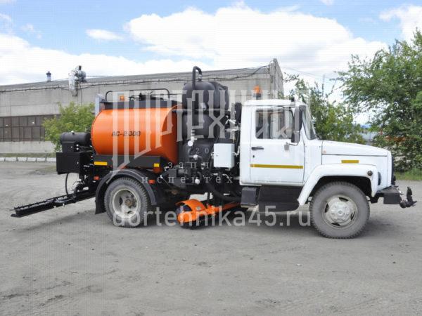 Купить Автогудронатор ГАЗ 3309 + ПМО и другую дорожную технику по низкой цене в ООО «Дортехника».