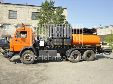 Купить Автогудронатор КамАЗ 65115 + ПМО и другую дорожную технику по низкой цене в ООО «Дортехника».