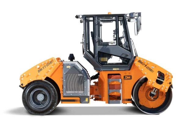 Купить Каток комбинированный вибрационный DM-7.7-VC и другую дорожную технику по низкой цене в ООО «Дортехника».