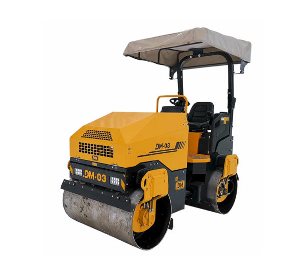 Купить Каток тротуарный DM-03-VD и другую дорожную технику по низкой цене в ООО «Дортехника».