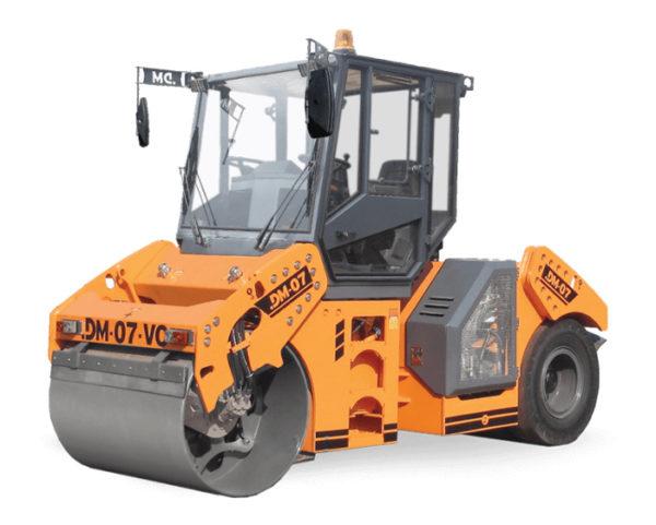 Купить Каток комбинированный вибрационный DM-07-VC и другую дорожную технику по низкой цене в ООО «Дортехника».