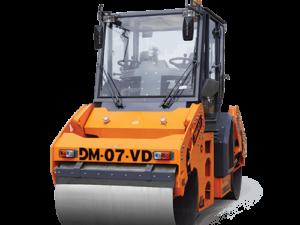 Купить Каток вальцовый DM-07-VD и другую дорожную технику по низкой цене в ООО «Дортехника».