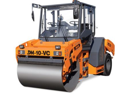 Купить Каток комбинированный вибрационный DM-10-VC и другую дорожную технику по низкой цене в ООО «Дортехника».