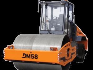 Купить Каток комбинированный вибрационный DM-58 и другую дорожную технику по низкой цене в ООО «Дортехника».