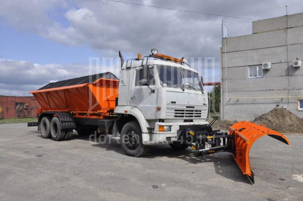 Купить Комбинированная дорожная машина КамАЗ 65117 и другую дорожную технику по низкой цене в ООО «Дортехника».