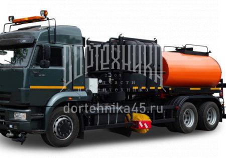 Купить Автогудронатор КамАЗ 65117 + ПМО и другую дорожную технику по низкой цене в ООО «Дортехника».