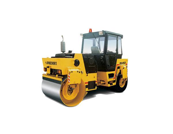 Купить Каток комбинированный вибрационный ДУ-99 и другую дорожную технику по низкой цене в ООО «Дортехника».