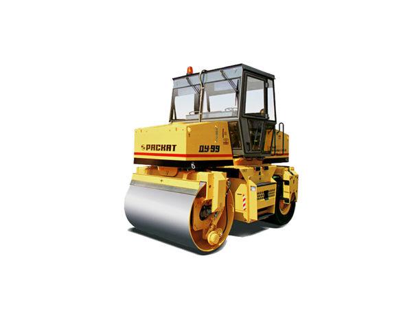 Купить Каток комбинированный вибрационный ДУ-97 и другую дорожную технику по низкой цене в ООО «Дортехника».