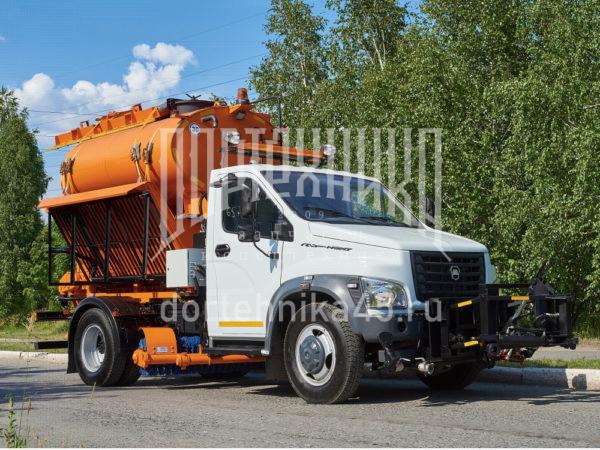 Купить Комбинированная дорожная машина ГАЗ NEXT и другую дорожную технику по низкой цене в ООО «Дортехника».