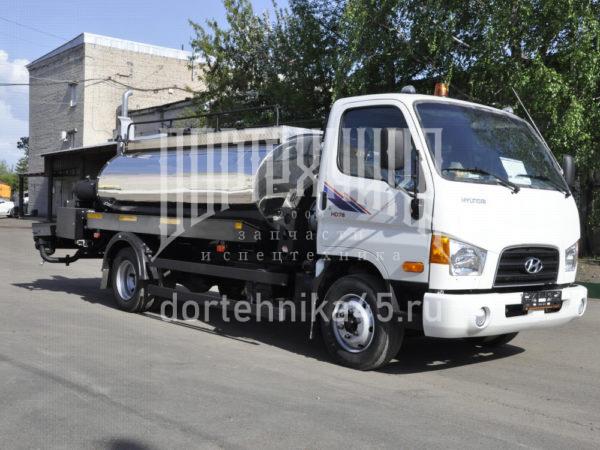 Купить Автогудронатор HYUNDAI и другую дорожную технику по низкой цене в ООО «Дортехника».