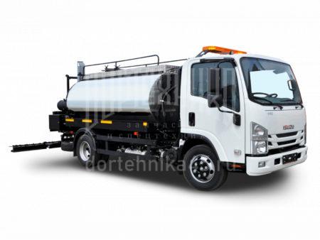 Купить Автогудронатор ISUZU 4500 и другую дорожную технику по низкой цене в ООО «Дортехника».
