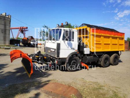 Купить Комбинированная дорожная машина МАЗ 5516 и другую дорожную технику по низкой цене в ООО «Дортехника».