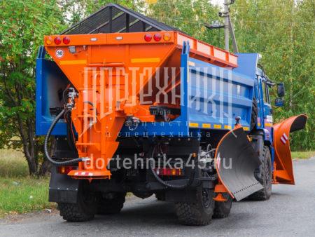 Купить Комбинированная дорожная машина КамАЗ 65141 и другую дорожную технику по низкой цене в ООО «Дортехника».