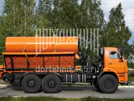Купить Комбинированная дорожная машина КамАЗ 43118 и другую дорожную технику по низкой цене в ООО «Дортехника».