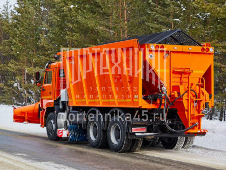 Купить Комбинированная дорожная машина КамАЗ 6520 и другую дорожную технику по низкой цене в ООО «Дортехника».