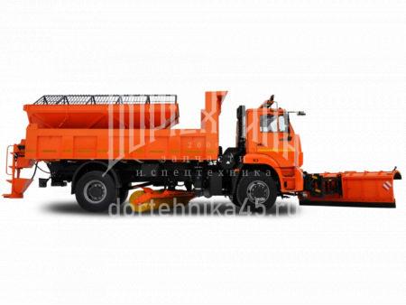 Купить Комбинированная дорожная машина КамАЗ 53605 и другую дорожную технику по низкой цене в ООО «Дортехника».