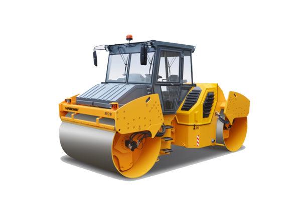 Купить Каток вальцовый RV-12 DD и другую дорожную технику по низкой цене в ООО «Дортехника».