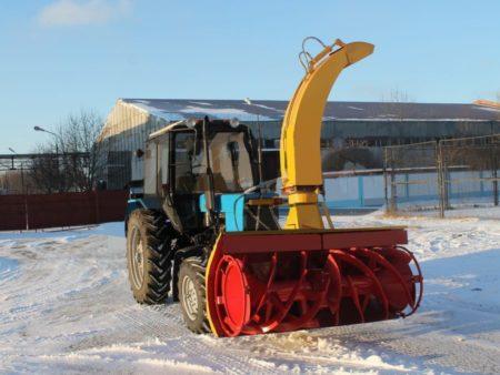 Купить Снегоочиститель фрезерный СНР-200 и другое навесное оборудование для спецтехники в ООО «Дортехника».