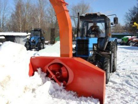 Купить Снегоочиститель роторный ЕМ-800.1 и другое навесное оборудование для спецтехники в ООО «Дортехника».