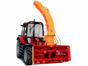 Купить Снегоочиститель шнеко-роторный ФРС-200М и другое навесное оборудование для спецтехники в ООО «Дортехника».
