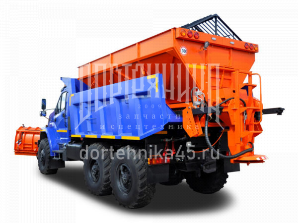 Купить Комбинированная дорожная машина УРАЛ NEXT и другую дорожную технику по низкой цене в ООО «Дортехника».