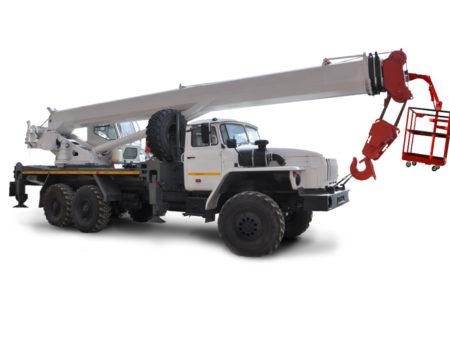 Купить Автокран УРАЛ KС-55732-28 6×6 и другую дорожную технику по низкой цене в ООО «Дортехника».